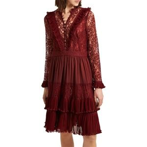 French Connection Clandre Lace Dress  NWT